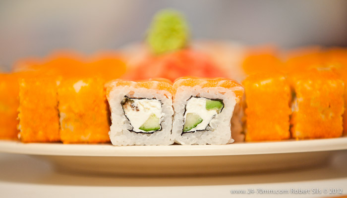 Philadelfia maki - GardiSushi Party Set - доставка / заказ суши в Риге