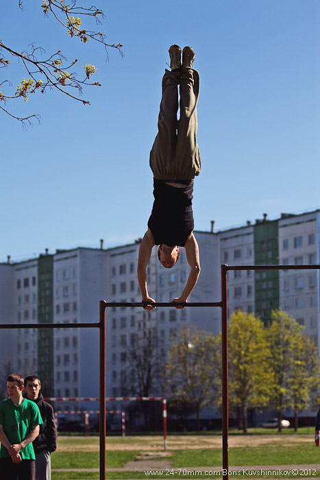 Latvia, Riga, 1st May Parkour Jam