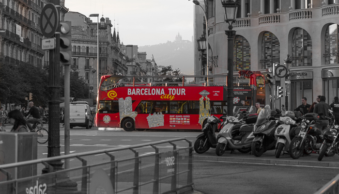 Barcelona City Tours Bus